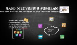 EASD Mentor Training