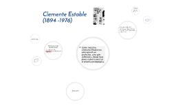 Clemente Estable