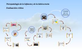 Psicopatología de la Infancia y de la Adolescencia