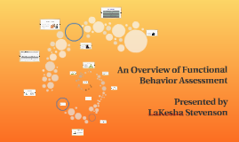 An Overview of Functional Behavior Assessment