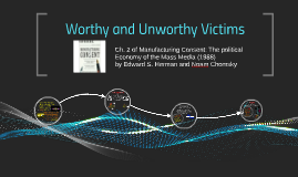Worthy and Unworthy Victims