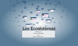Copy of Los Ecosistemas