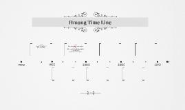 Hmong Time Line