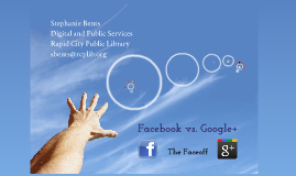 Facebook vs. Googl+