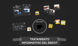 Tratamiento informativo del Brexit