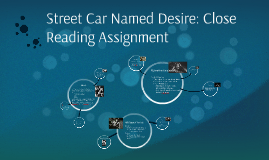 street car named desire: close reading assignment