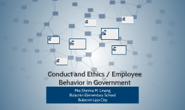 Conduct and Ethics / Employee
