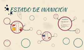 ESTADO DE INANICIÓN