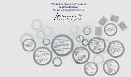 IV Feria de la Ciencia y la Tecnología
