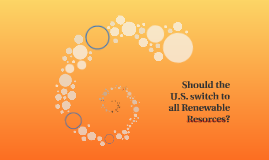 Should the U.S. switch to all Renewable Resorces?