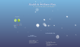 Health & Wellness Plan
