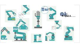 un brazo robótico con sistema de control automatizado que ay