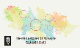 segundo gobierno de Fernando Isaac Sergio Marcelo Marcos Bel