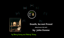 Death, be not proud analysis