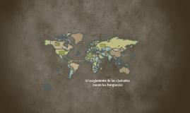 El surgimiento de las ciudades: nacen las burguesías