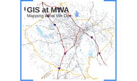 GIS at MWA