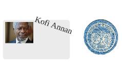 UNO & Kofi Annan