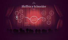 Shiffrin y Schneinder