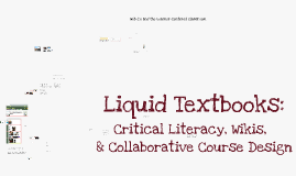 Critical Literacy and Web 2.0