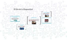 El Dia de la Hispanidad
