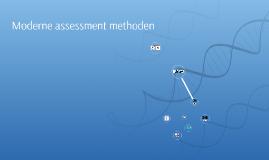 Moderne assessment methoden