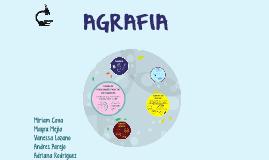 Copy of      AGRAFIA
