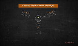 CURSO TEORICO DE MANEJO