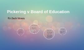 Pickering v Board of Education