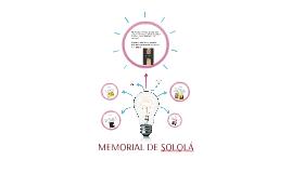 MEMORIAL DE SOLOLÁ
