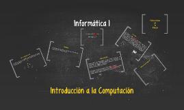 Informática 1