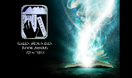 Green Mountain Book Award Nominees 2014-2015