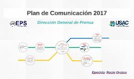 Plan de Comunicación 2017