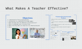 What Makes A Teacher Affective