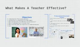 What Makes A Teacher Affective
