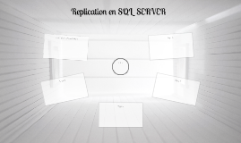 Replication en SQL  SERVER