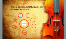 Sidang Proposal PAA 65 - Gedung Konser dan Pertunjukan Seni Budaya Yogyakarta