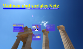 Wohnen und soziales Netz