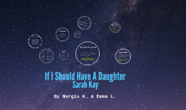 If I Should Have A Daughter by Sarah Kay