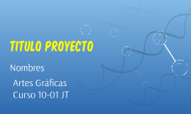 TITULO PROYECTO
