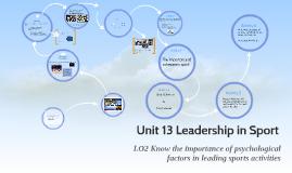 2.2 Team Cohesion