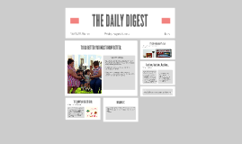 THE DAILY DIGEST