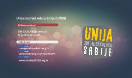 Unija srednjoškolaca Srbije (UNSS)