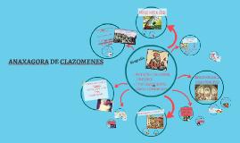ANAXAGORA DE CLAZOMENES