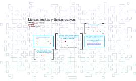 Líneas rectas y líneas curvas