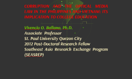 Copy of CORRUPTION AND THE OPTICAL MEDIA LAW IN THE PHILIPPINES AND