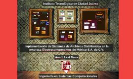 Implementación de Sistemas de Archivos Distribuidos en la em