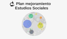 Plan mejoramiento . Estudios Sociales