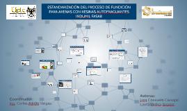 ESTANDARIZACIÓN DEL PROCESO DE FUNDICIÓN PARA ARENAS CON RES