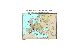 Rise of Nation States 1500-1800