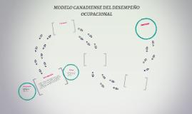 MODELO CANADIENSE DEL DESEMPEÑO OCUPACIONAL